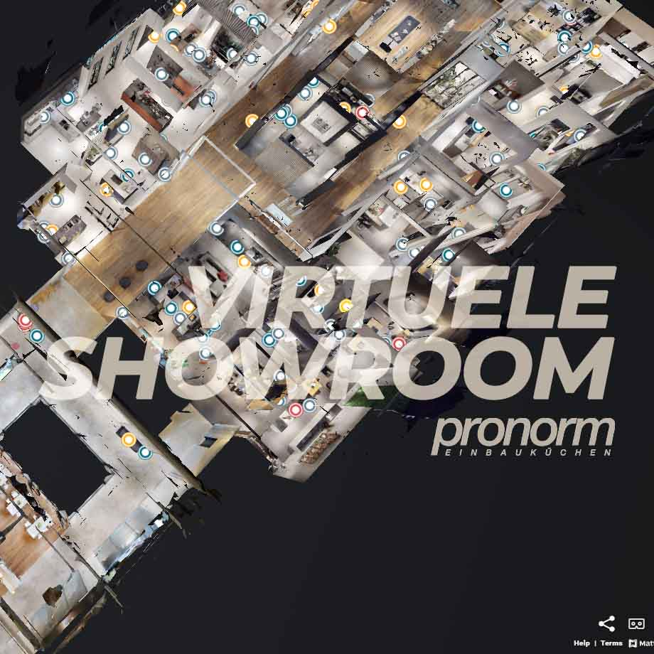 Virtuele showroom pronorm