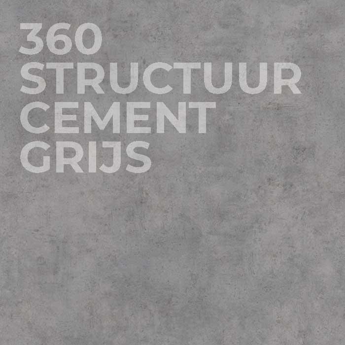 360 Structuur Cement Grijs