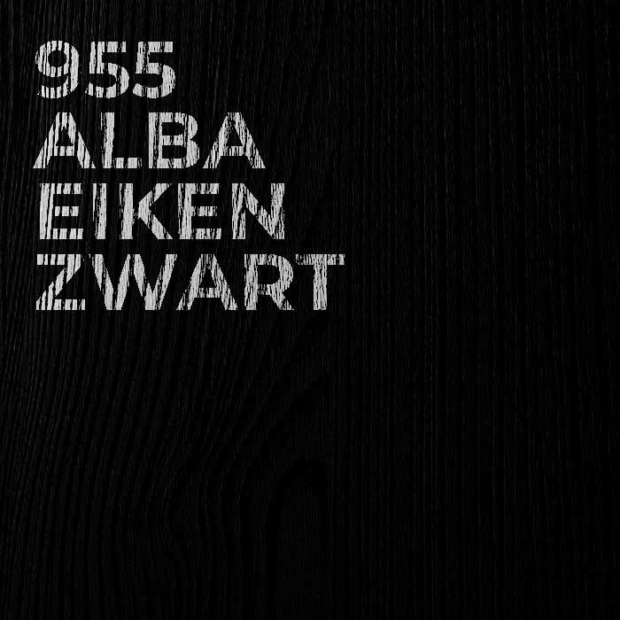 955 Alba Eiken Zwart