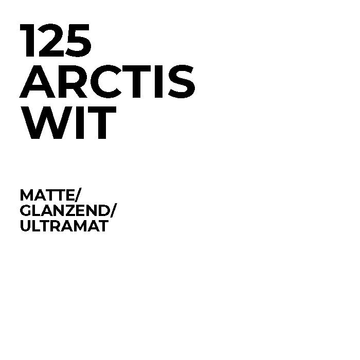 125 Arctis wit