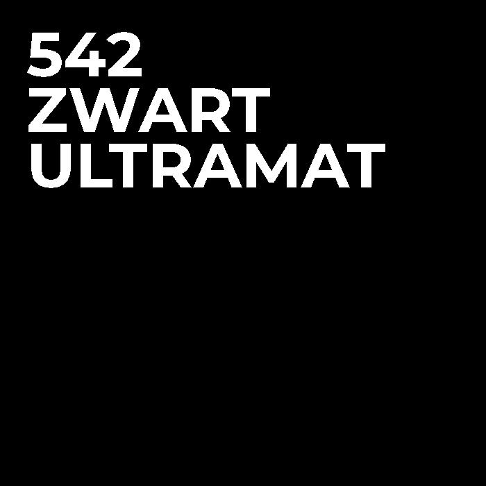 542 Zwart Ultramat